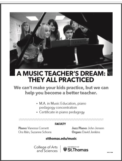 MA in Music Education Ad